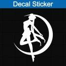 Sailor Moon Princess Decal Sticker