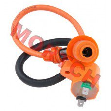 GY6 Racing Ignition Coil + Spark Plug Cap