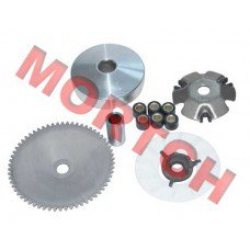 GY6 50cc CVT Front Plate Assy of Drive