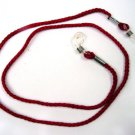 NEW NECK CORD LANYARD STRAP FOR GLASSES IN MAROON