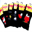 3 PAIRS OFFICIAL SNOOPY MENS BOYS COTTON RICH SOCKS UK 6-11 EU 39-45
