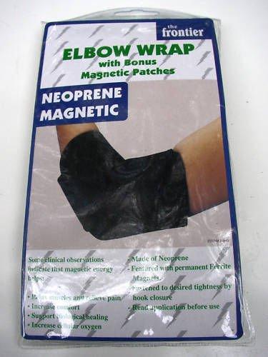 MAGNETIC BIO THERAPY ELBOW NEOPRENE WRAP