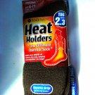 ONE SIZE DARK BROWN SOCK SHOP HEAT HOLDERS THERMAL SOCKS FOR MEN TOG RATING 2.3