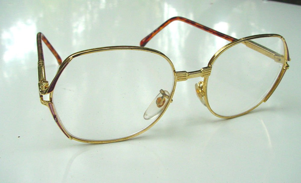 4 PAIRS READING GLASSES GOLD METAL +2.0