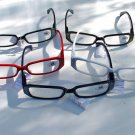 5 PAIRS DESIGNER READING GLASSES IN 5 DIFFERENT COLOURS +3.0 D503