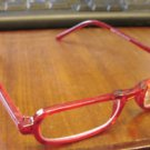 NEW FUNKY READING GLASSES RED FRAMED + 2.50 STRENGTH