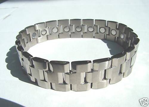 MEN'S TITANIUM MAGNETIC THERAPEUTIC BRACELET STYLISH
