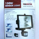 NEW 150W QUALITY OUTDOOR MOTION SENSOR LIGHT HALOGEN SECURITY FLOODLIGHT GARDEN