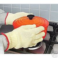 HEAT RESISTANT BURN PROOF GLOVES ANTI HEAT bbq oven 549