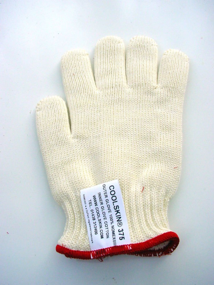 GENUINE SINGLE COOLSKIN HEAT RESISTANT ANTI BURN GLOVE SIZE 9 MEN MED LADIES LG