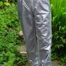 PVC OVERTROUSERS WATERPROOF RAINWEAR SEMI TRANSPARENT M UNISEX DESIGN B5C