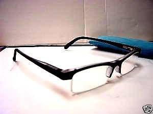 STYLISH READING GLASSES SPRUNG ARM  BLUE +3.0 D509