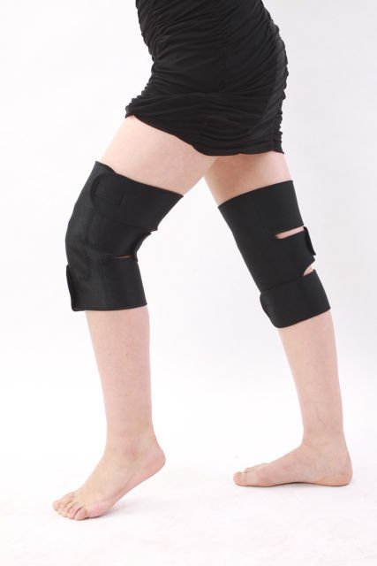 TOURMALINE SELF HEATING KNEE WRAP STRAP BRACE MAGNETIC ARTHRITIS SUPPORT  x 1