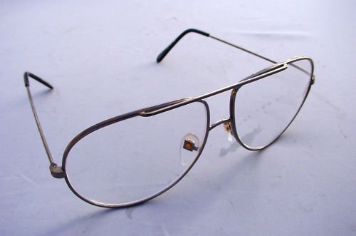 LARGE METAL FRAME GUNMETAL AVIATOR READING GLASSES +3.0