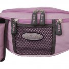 JEEP LARGE PRACTICAL LILAC BUM HIP BAG HANDBAG