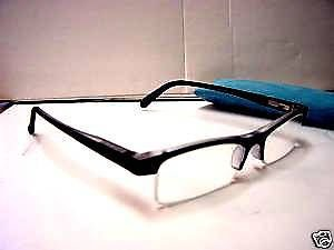 STYLISH READING GLASSES SPRUNG ARM BLUE +3.0 D509