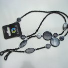 NEW BEADED GLASSES NECK CHAIN LANYARD SAFETY CORD STRAP SPECS HOLDER TAMAR GREY