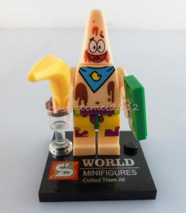 Patrick Minifigure Spongebob Building Block Toy 1pc