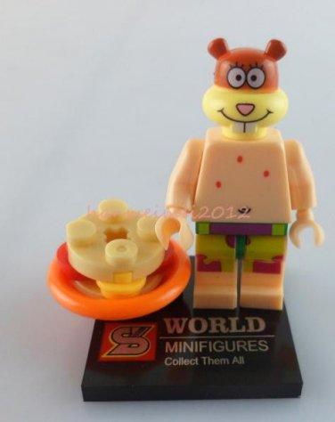 Sandy Minifigure Spongebob Building Block Toy 1pc