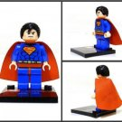 Superman Minifigure Super Hero Building Block Toy 1pc