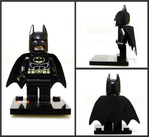 Batman Minifigure Super Hero Building Block Toy 1pc