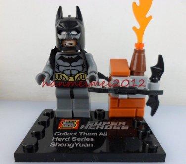 Batman Minifigure Super Hero Building Block Toy 1pc FAST USA SHIPPER