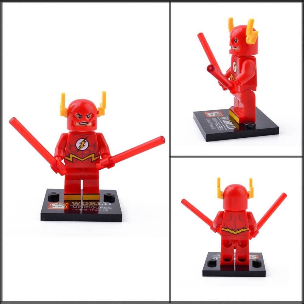 Flash Minifigure Super Hero Building Block Toy 1pc FAST USA SHIPPER