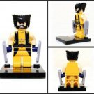 Wolverine X-Men Minifigure Super Hero Building Block Toy 1pc