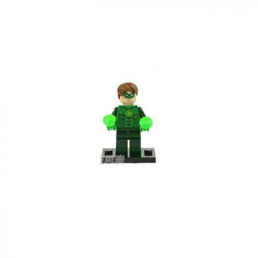 Green Lantern Minifigure Super Hero Building Block Toy 1pc FAST USA SHIPPER