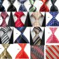 Variety of Men's 100% Jacquard Woven Silk Hand Made Neck Tie's 58-59 inches long