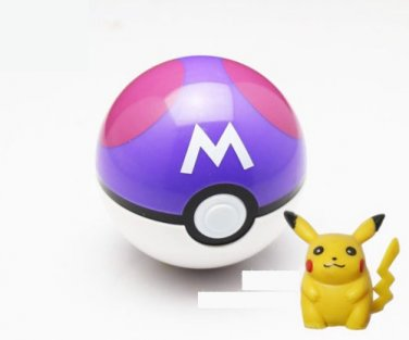 Pokemon Masterball Purple and White with free gift Pikachu