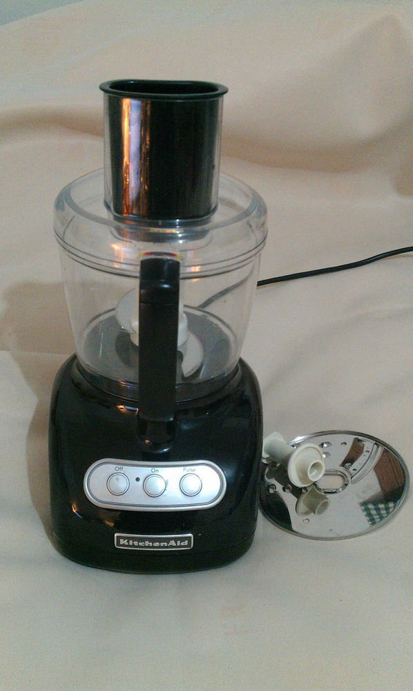 Kitchenaid Kfp715ob2 7 Cup Food Processor Onyx Black