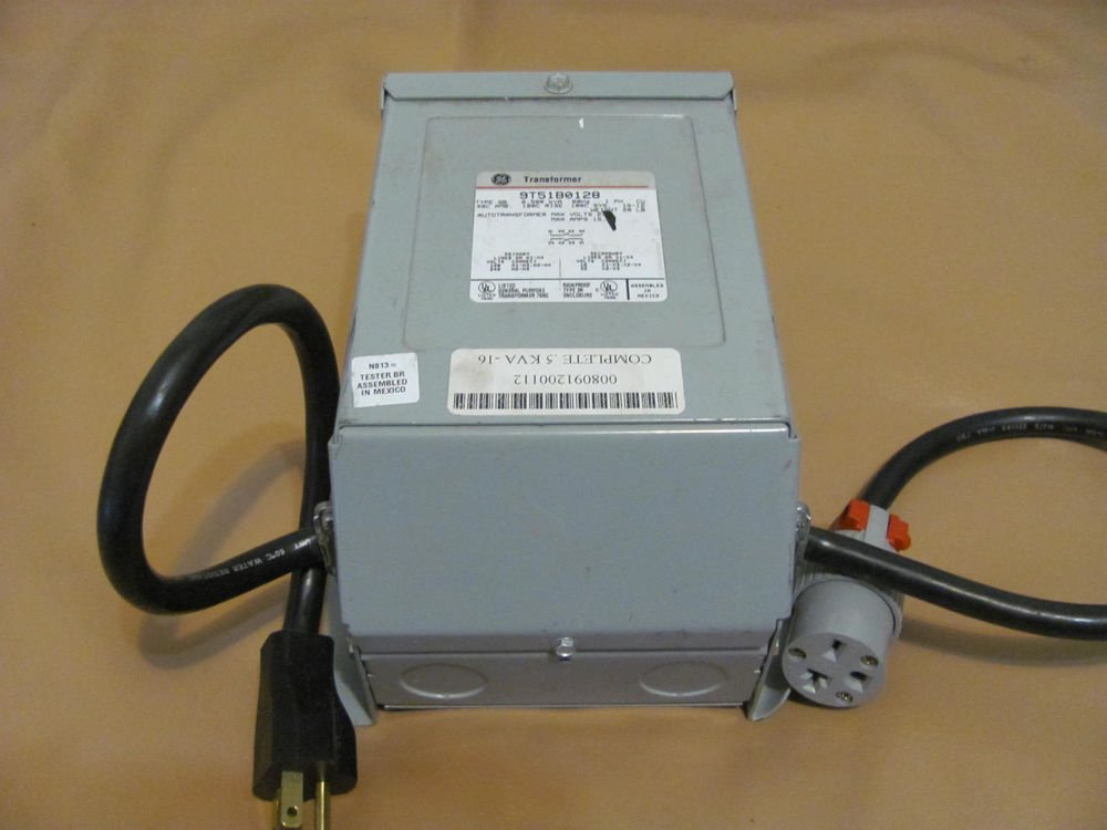 GE  GENERAL ELECTRIC 9T51B0128 BUCK BOOST TRANSFORMER FOR TANNING BED