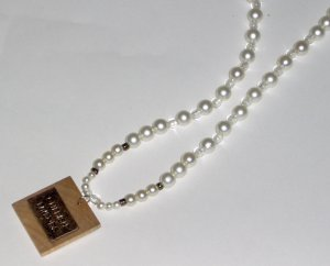 One of a kind faux pearl necklace Cherish Friends