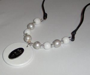 One of a kind necklace Why Not?! costume jewelry