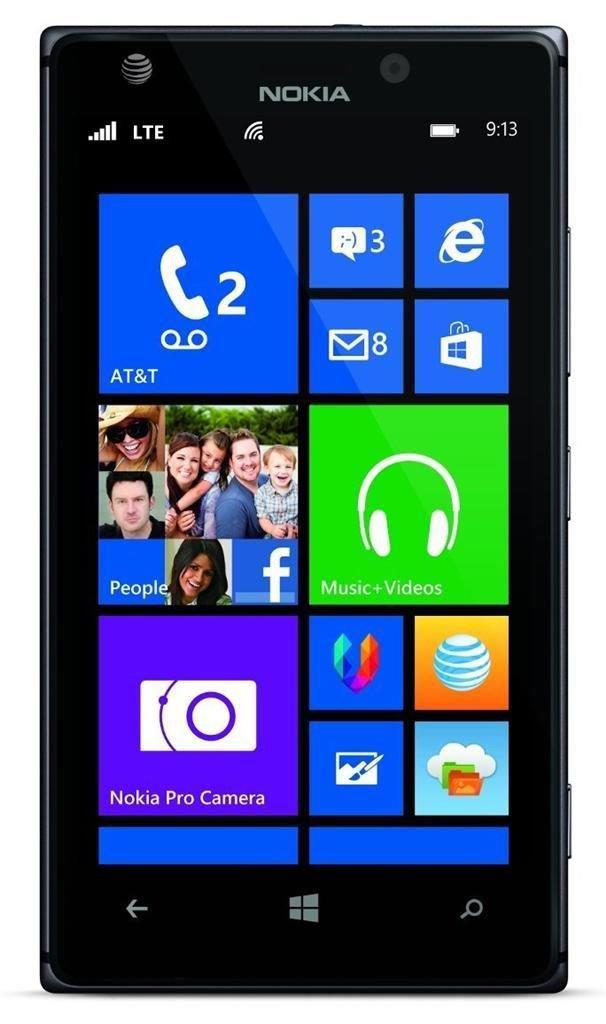 NOKIA 925 (16GB) 4G LTE 16GB - Black (AT&T Locked) Smartphone