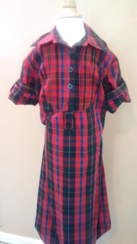Mossimo Supply Co Plaid Dress SIZE XS