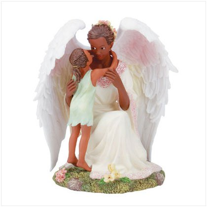 Girl Whispering to Guarding Angel (aa) #32204