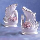 Porcelain Swan Vases - pr - #25223