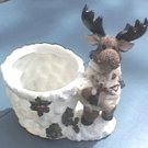 * NEW * WINTER MOOSE PLANTER * #50015 * SALE *