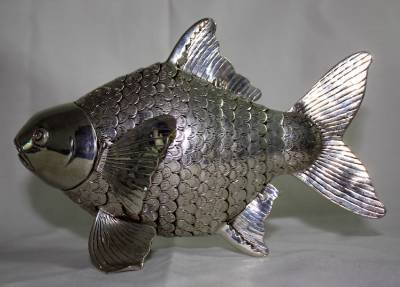 Asian Articulated Silver Fish #1