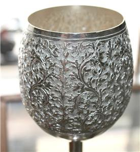 Beautiful Asian Silver Cup