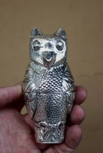 Asian Silver Owl Box