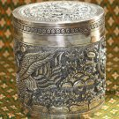 Asian Silver Designed Cannister