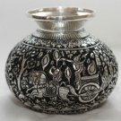 Asian Khmer Cambodian Silver Bowl #C132