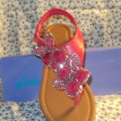 WOMENS PINK FLAT SLING BACK SANDALS SIZE 6, 6.5, 7, 7.5, 8, 10