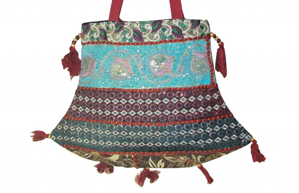 Stylish Handmade Sling Shoulder Bag, Hippie, Boho, Gypsy Beach, Ethenic Tribal