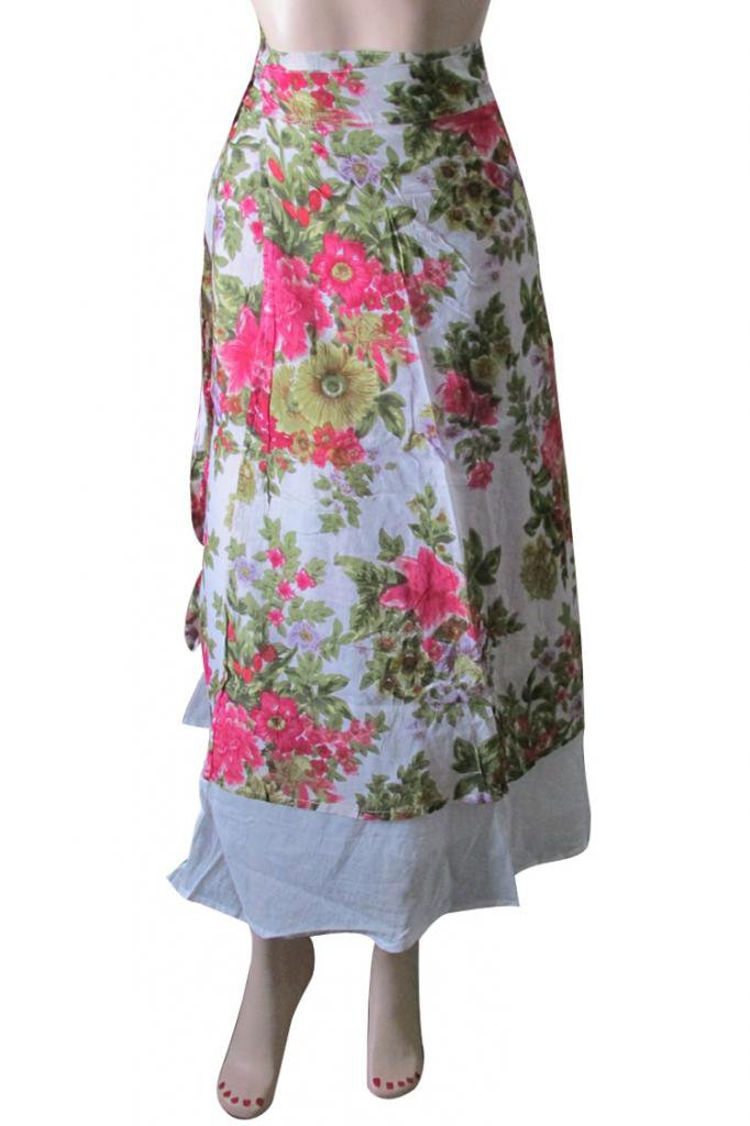 Casual Party Wear Boho  Woman skirts Indian Summer Wear Wrap Round Skirt Beach