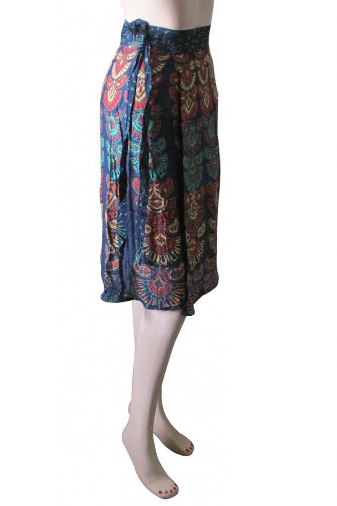 Casual Party Wear Boho Woman skirts Indian Summer Wear Wrap Round Skirt Beach
