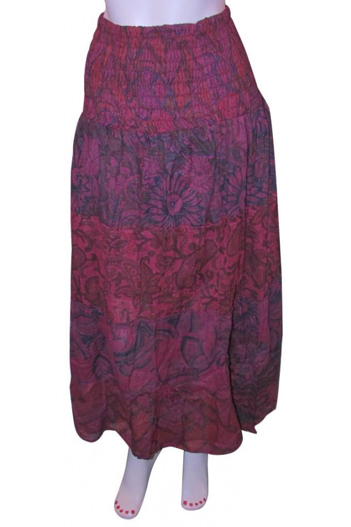 woman skirts Indian Style Summer Wear Long Skirt Beach Casual Party Wear Boho